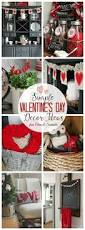 Valentine Home Decorations Valentine Home Decor Ideas Kids Food Crafts Kid And Mantles