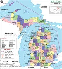 map of michigan michigan county map map of michigan counties counties in michigan
