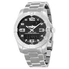 breitling titanium bracelet images Breitling aerospace evo black dial titanium men 39 s watch e7936310 jpg