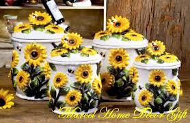 sunflower kitchen decor theme Sunflower Kitchen Décor with