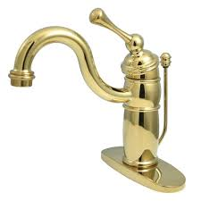 kingston brass victorian single hole 1 handle mid arc bathroom