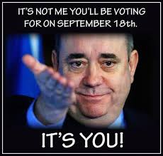 Alex Salmond Meme - huge cheers of thank you to alex salmond as he addresses the crowd