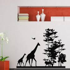 Safari Wall Murals Online Get Cheap African Wall Stickers Aliexpress Com Alibaba Group