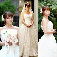 wedding dress drama korea min jung looking beautiful in wedding dress for big