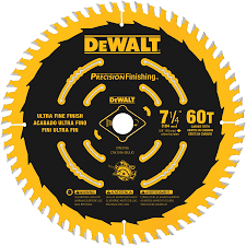 Blade For Cutting Laminate Flooring Shop Dewalt Precision Trim 7 1 4 In 60 Tooth Standard Tooth