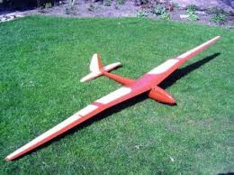 radio control glider semi scale various wood types plans