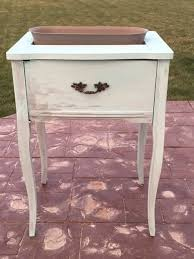 How To Make A Sewing Table by Sewing Table Turned Planter How To Make A Vase Pot Or Planter
