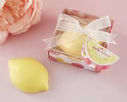soap favors lovely lemon soap favors for a lemon wedding theme