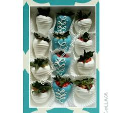 White Chocolate Strawberries And Pretzels Blue And White Chocolate Covered Strawberries Chic And Shimmer