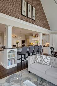 Kitchen Living Space Ideas Best 25 Open Family Room Ideas On Pinterest Open Concept Great