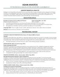 sample resume for financial analyst entry level exciting power bi