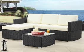 Wicker Sectional Patio Furniture - outdoor furniture section sofamania com