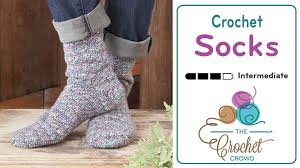crochet pattern videos for beginners how to crochet socks for beginners tutorial the crochet crowd