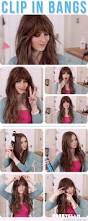 best 25 bangs tutorial ideas on pinterest hair pinned back
