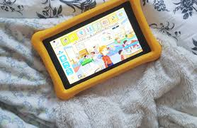 educating wild child amazon fire kids tablet abc mouse