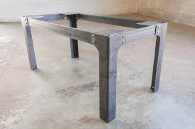 Coffee Tables Legs Industrial Dining Table Legs Bold Mfg Supply
