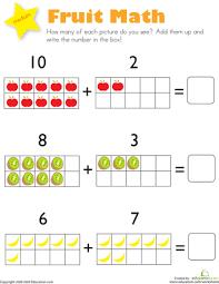 kindergarten math worksheets addition worksheets
