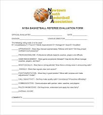 12 free basketball evaluation forms free u0026 premium templates