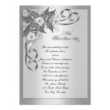 25th wedding anniversary invitations 25th wedding anniversary invitations best wedding ideas quotes