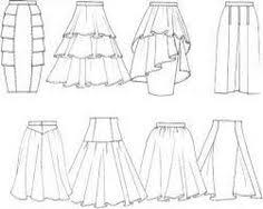how to draw a dress fashion design drawing side plaited skirt