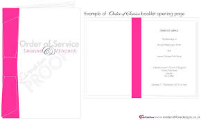 Wedding Booklet Templates Made With Love Order Of Service Booklets Wording Templates