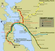san francisco map east bay bay area california wikitravel