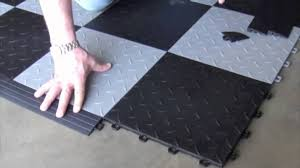 locking garage floor tiles tile floor designs and ideas
