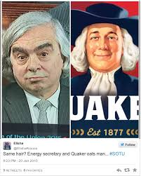 Quaker Memes - obama gave his state of the union but this guy in the audience is