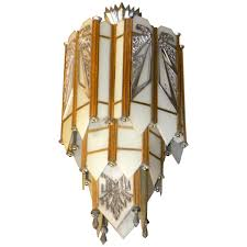 Art Chandelier Spectacular Art Deco Chandelier With Interior Home Addition Ideas