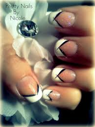 white tip nail art images nail art designs