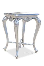 shabby chic side table lila shabby chic side table silver leaf baroque furniture