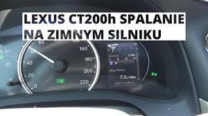 lexus ls 400 pojemnosc zbiornika paliwa lexus ct hatchback 5d 200h 136km 2010 2013 u2022 dane techniczne