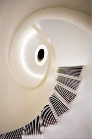 formwerkz architectss origami home design circular stair from