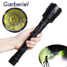 Torch Light Flashlight Garberiel 80000lm Xml T6 Led Flashlight Torch Lamp 18650 Battery
