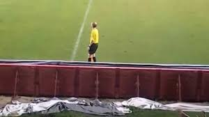 Asian Wall Fans by Asian Referee Dancing And Playing With The Fans Funny Football