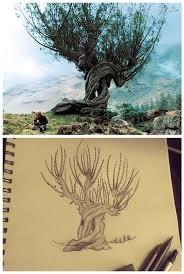 whomping willow design by landersalisa on deviantart