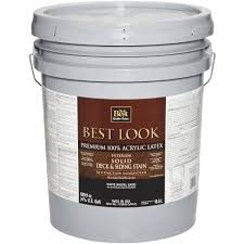 do it best best look solid deck u0026 siding exterior stain