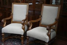 Casters For Dining Room Chairs Furniture Upholstered Dining Chairs With Perfect Finishing Touch