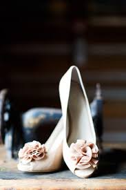 Light Pink Wedding Shoes Unconventional Wedding Venue Tips
