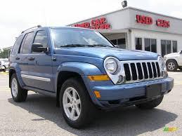 jeep liberty limited 2017 2006 atlantic blue pearl jeep liberty limited 4x4 13888336
