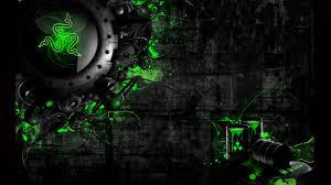 razer neon green wallpaper and background 1366x768 id 404840