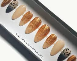 oval nails etsy