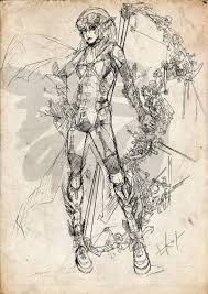 steampunk elf sketch by eko999 on deviantart