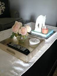 how to style a coffee table at home with ashley