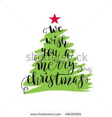 we wish you merry stock vector 496365691