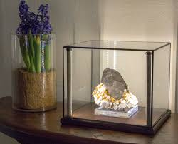 Display Cabinets With Lights Greenstone Lighted Display Cases For Minerals Art Curios