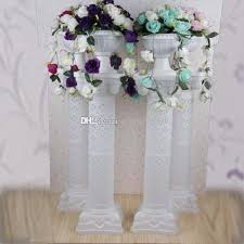 wedding decorations wholesale wholesale high quanlity plastic columns for wedding road