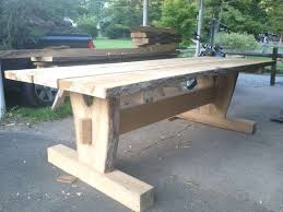 Patio Table Legs Impressive Timber Frame Picnic Table Diy Pinterest Picnic Tables