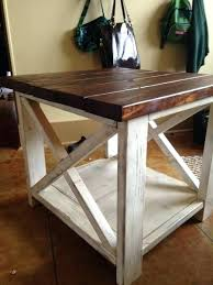 rustic x coffee table for sale rustic side table afslanken club