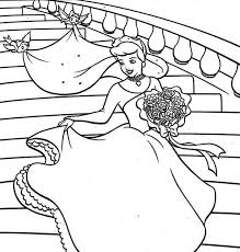 cinderella wedding dress coloring coloring sun